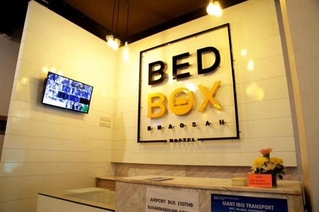Bed Box Khaosan Hostel