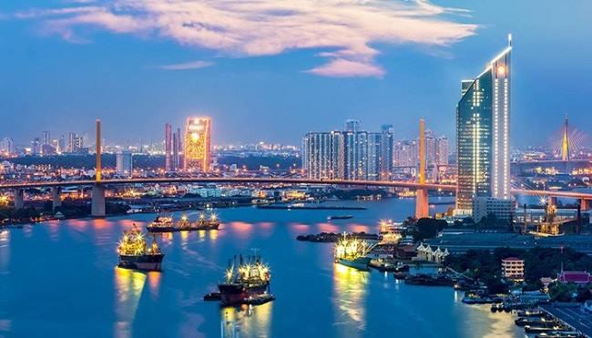 Dòng sông lớn và nổi tiếng nhất ở Thái Lan Song ChaoPhraya