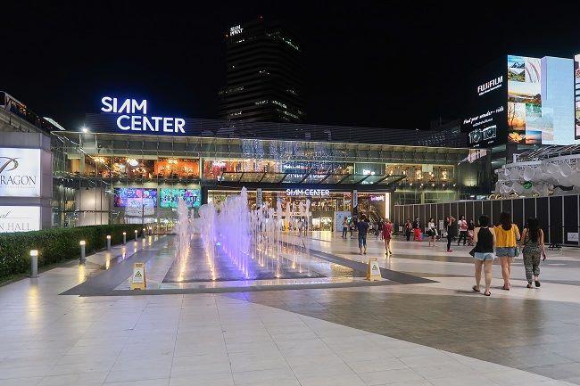 Siam Center mang phong cách trẻ trung và hiện đại