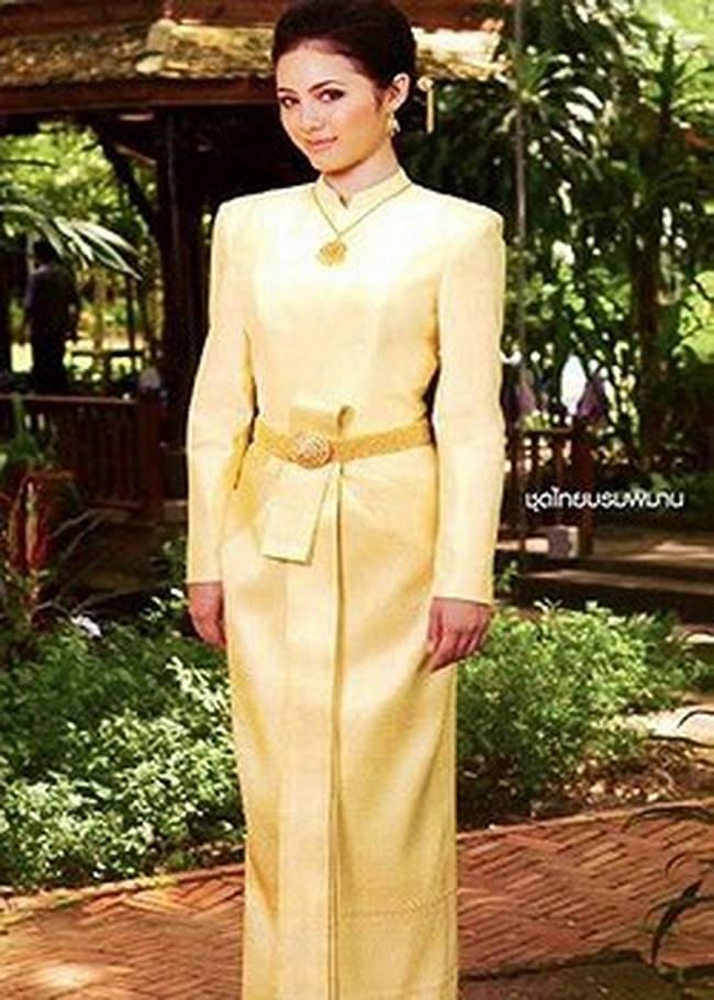 Thai Borompiman - một loại trang phục truyền thống cung đình của nữ giới