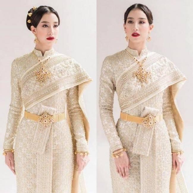 Thai Siwalai - một loại trang phục truyền thống cung đình của nữ giới