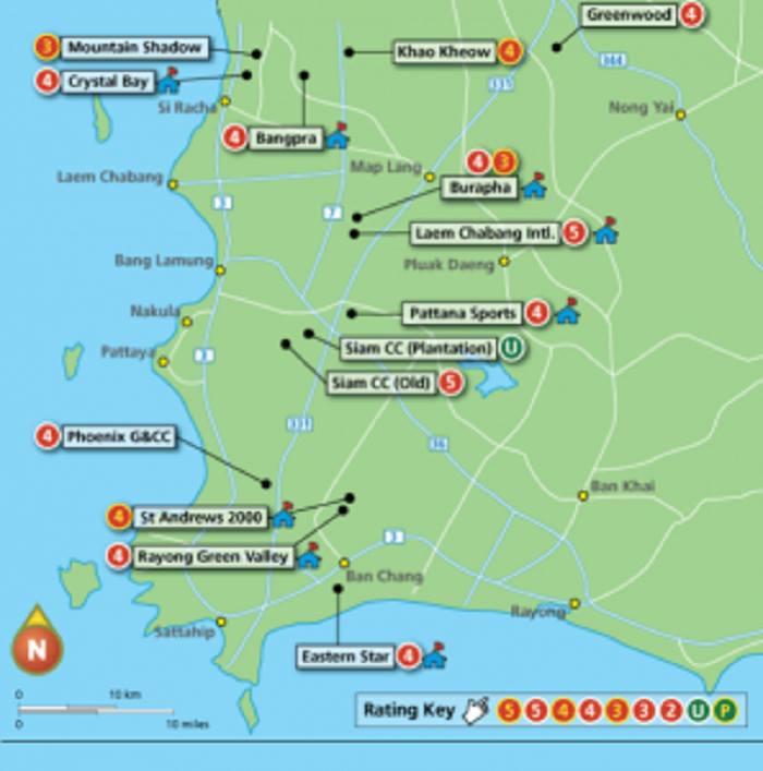 Bản đồ Pattaya