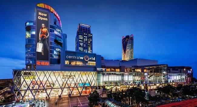 Khu trung tâm thương Central World