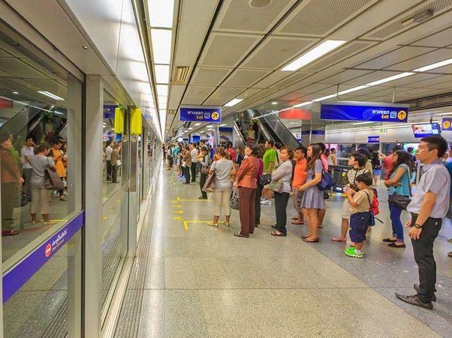 Tàu điện ngầm Metro đi đến Chatuchak