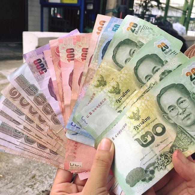 Đổi tiền Việt sang tiền Thái