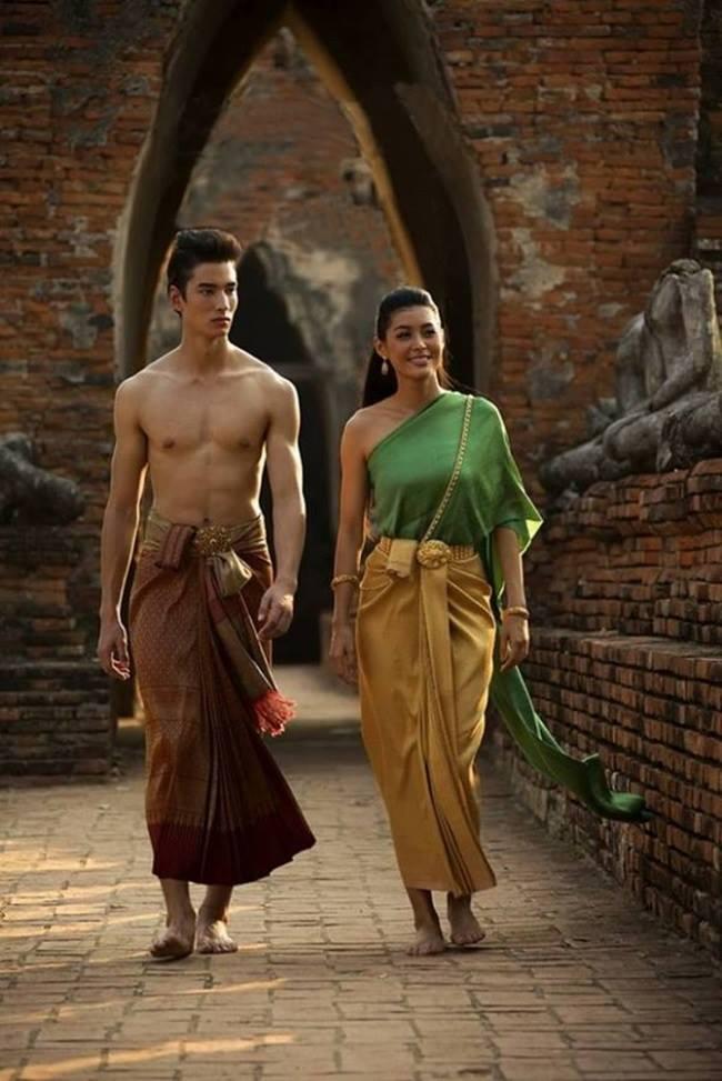Trang phục truyền thống Thái Lan đem đến sự thoải mái