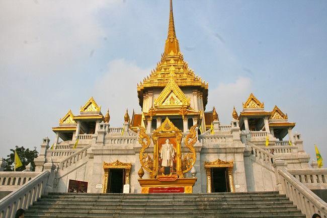 Wat Traimit là nơi lưu trữ tượng Phật vàng lớn nhất thế giới