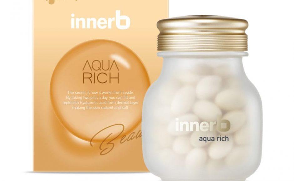 INNERB, Thực Phẩm Bảo Vệ Sức Khỏe Innerb Aqua Rich Radiant Soft Skin Hỗ Trợ  Giữ Ẩm Làm Đẹp Da 28g | Watsons Vietnam